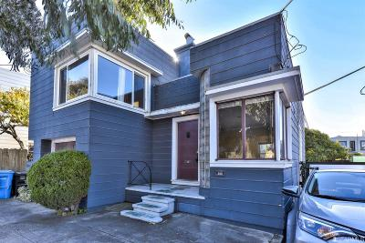 San Francisco County Single Family Home For Sale: 209 Theresa St