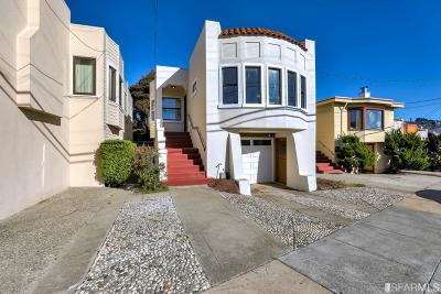 San Francisco Single Family Home For Sale: 236 Santa Rosa Ave