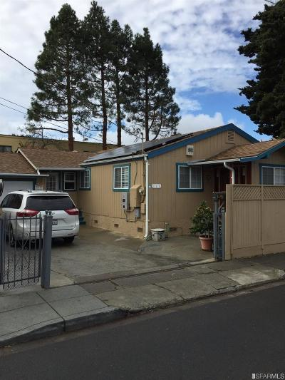 San Mateo Single Family Home For Sale: 111 N Railroad Ave