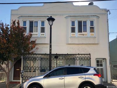 San Francisco Multi Family Home For Sale: 159 161 Leland Ave