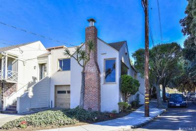 San Francisco Single Family Home For Sale: 40 Escolta Way