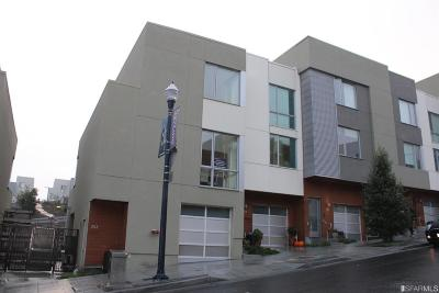 San Francisco Condo/Townhouse For Sale: 253 Friedell St