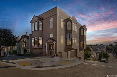 San Francisco Single Family Home For Sale: 357 Vicente St