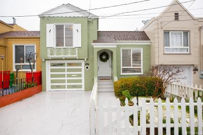 San Francisco Single Family Home Contingent - Show: 1911 32nd