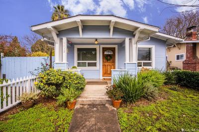 Sonoma County Single Family Home For Sale: 1112 Rutledge Ave
