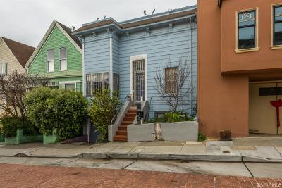 San Francisco Single Family Home For Sale: 340 Winfield St