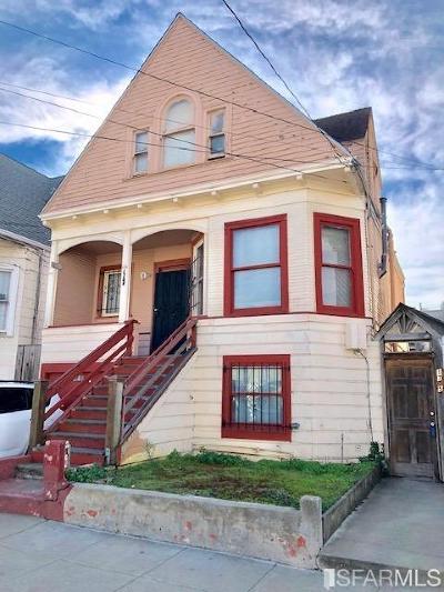 San Francisco Multi Family Home For Sale: 1735 McKinnon Ave