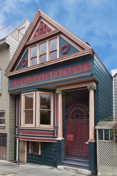 San Francisco Single Family Home For Sale: 886 Potrero Ave