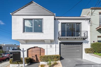 San Francisco Single Family Home For Sale: 194 Maddux Ave