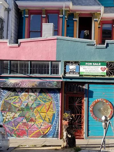 San Francisco Multi Family Home For Sale: 436 440 Haight St