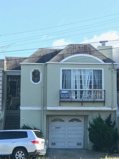 San Francisco Single Family Home For Sale: 2691 Alemany Blvd