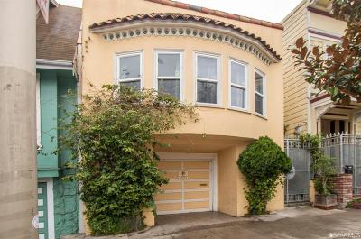San Francisco Multi Family Home For Sale: 1641 1643 Palou Ave