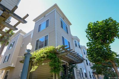 San Francisco Condo/Townhouse For Sale: 721 Frederick St