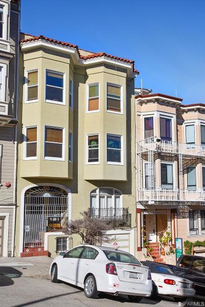San Francisco Multi Family Home For Sale: 384 Vallejo