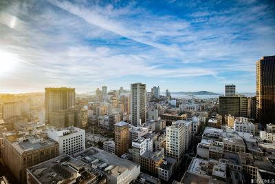 San Francisco, Pacifica, Redwood City, San Bruno, San Carlos, South San Francisco Condo/Townhouse For Sale: 765 Market St #PH3B