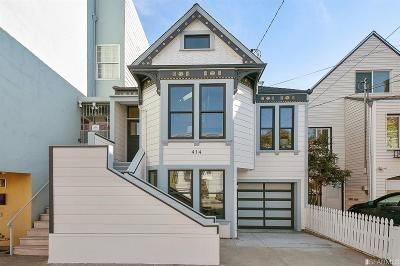 San Francisco Single Family Home For Sale: 414 12th Ave