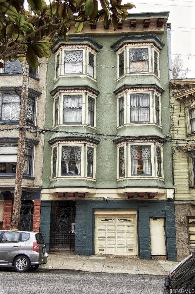 San Francisco Multi Family Home For Sale: 337 Webster St