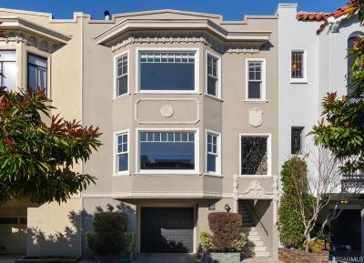 San Francisco Condo/Townhouse For Sale: 2330 Francisco St
