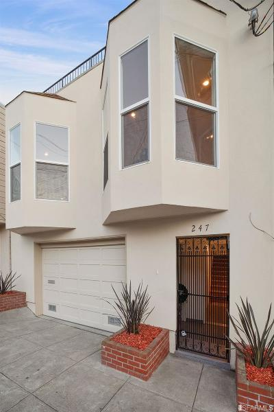 San Francisco Single Family Home For Sale: 247 Schwerin St