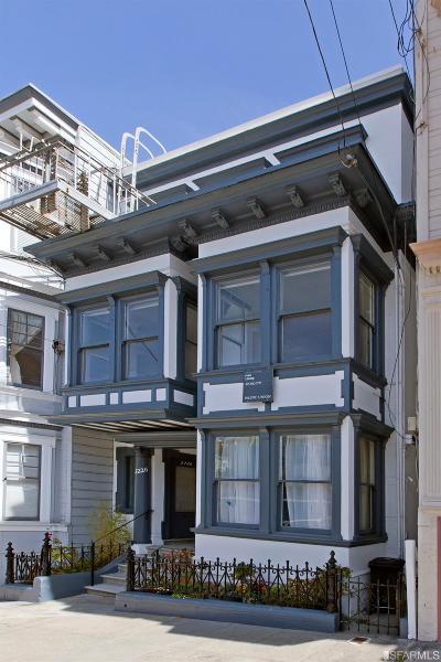 San Francisco Multi Family Home For Sale: 2222 2226 Jones St