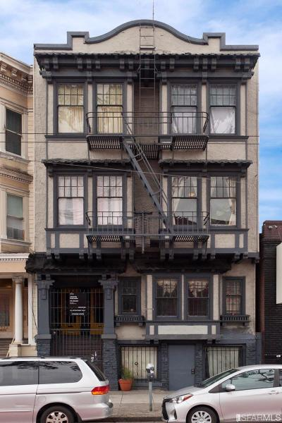 San Francisco Multi Family Home For Sale: 1714 1718 Mission St