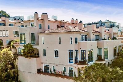 San Francisco Condo/Townhouse For Sale: 186 Francisco St #4