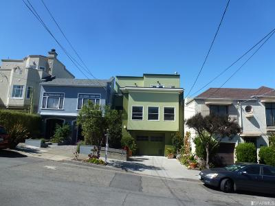 San Francisco Multi Family Home For Sale: 1419 1421 16th Ave