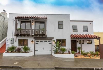San Francisco Single Family Home For Sale: 2631 Ulloa St