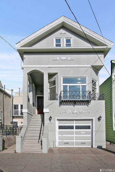 San Francisco Single Family Home For Sale: 1906 Greenwich St