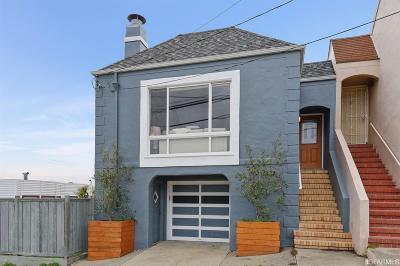 San Francisco Single Family Home Contingent - Show: 3430 Kirkham St