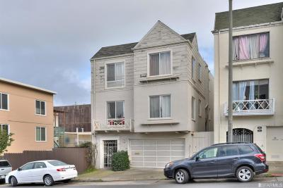 San Francisco Multi Family Home For Sale: 618 25th Ave