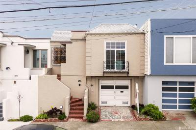 San Francisco Single Family Home For Sale: 1890 30th Ave