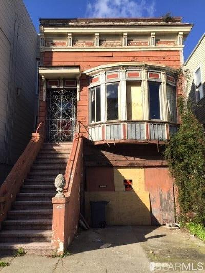 San Francisco Single Family Home For Sale: 2748 Bush St