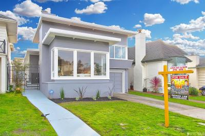 Daly City Single Family Home For Sale: 181 Westdale Ave