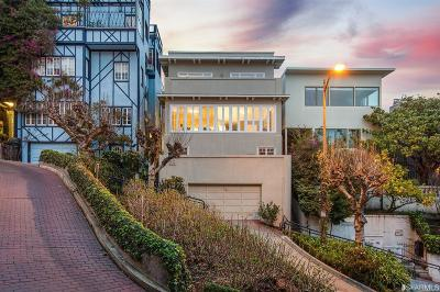 San Francisco County Condo/Townhouse For Sale: 1028 Lombard St