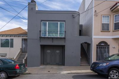 San Francisco Single Family Home For Sale: 51 Somerset St