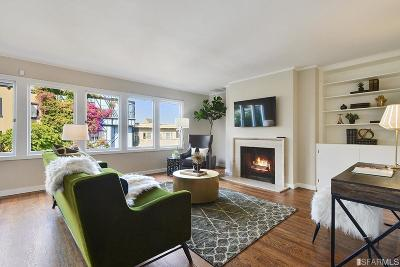 San Francisco Single Family Home For Sale: 1047 Lombard St