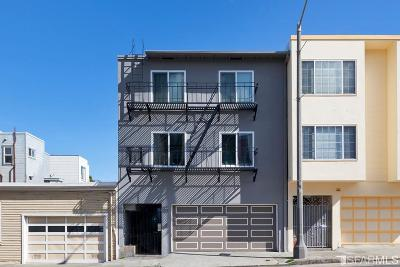 San Francisco Multi Family Home For Sale: 318 25th Ave