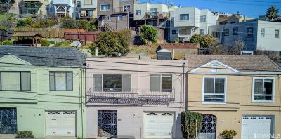 San Francisco Single Family Home Contingent - Show: 344 Thornton Ave