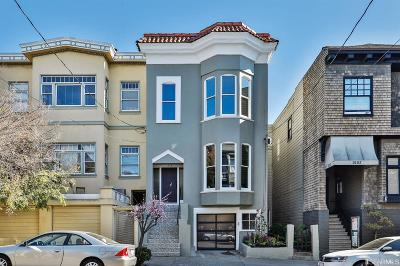 San Francisco County Single Family Home For Sale: 1914 Webster St