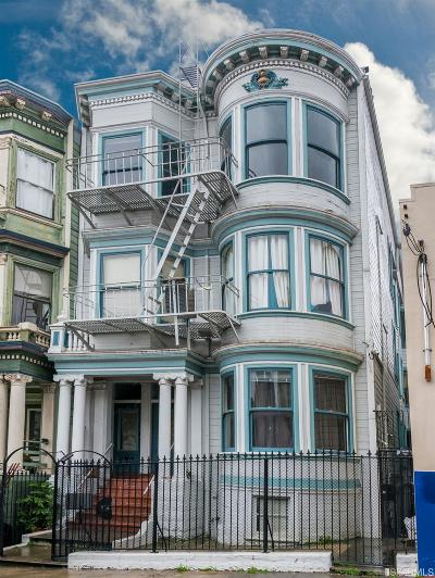 San Francisco Multi Family Home For Sale: 544 548 Clayton St
