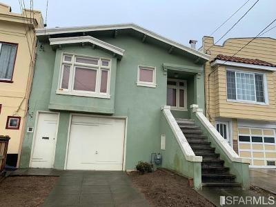 San Francisco Single Family Home For Sale: 27 Seville