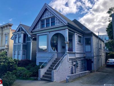 San Francisco Single Family Home For Sale: 2951 Bush St