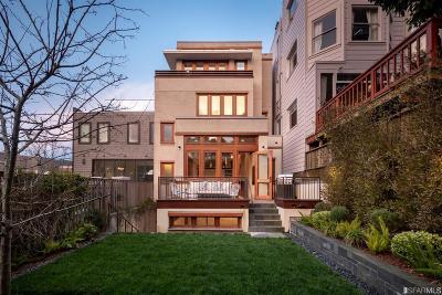 San Francisco Single Family Home For Sale: 2645 Baker St