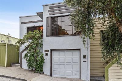 San Francisco Single Family Home For Sale: 1519 La Salle Ave