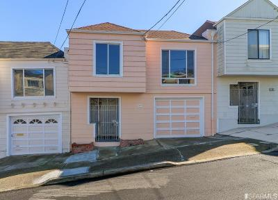 San Francisco Single Family Home For Sale: 875 Colby St
