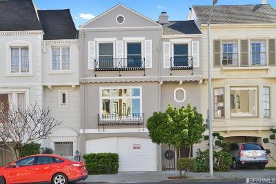 San Francisco Condo/Townhouse For Sale: 2519 Chestnut St