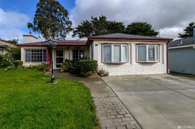 San Mateo County Single Family Home For Sale: 122 Cuesta Dr