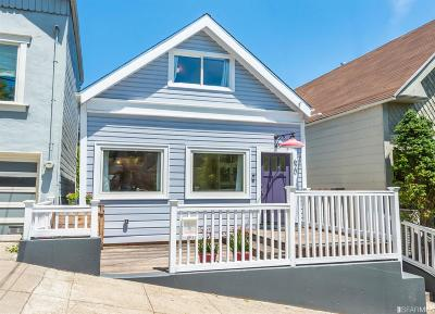 San Francisco Single Family Home For Sale: 620 620A 29th St