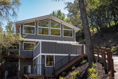 Marin County Single Family Home For Sale: 230 Oakcrest Rd